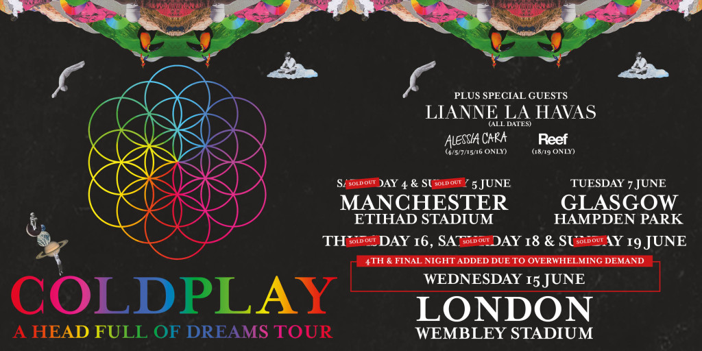 Coldplay Support